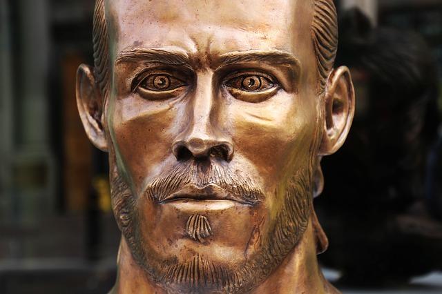 Gareth Bale Büste
