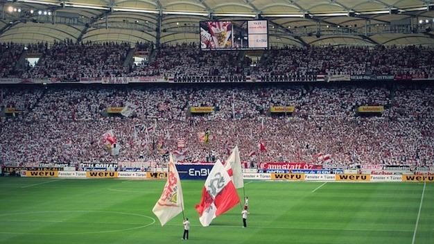 Bundesliga Rückrunde - Blick ins Stadion des VfB Stuttgart