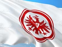Flagge vom Fussballverein Eintracht Frankfurt