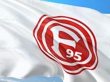 Flagge vom Fussballverein Fortuna Düsseldorf