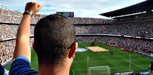 Die besten 5 Fußballstadien weltweit
