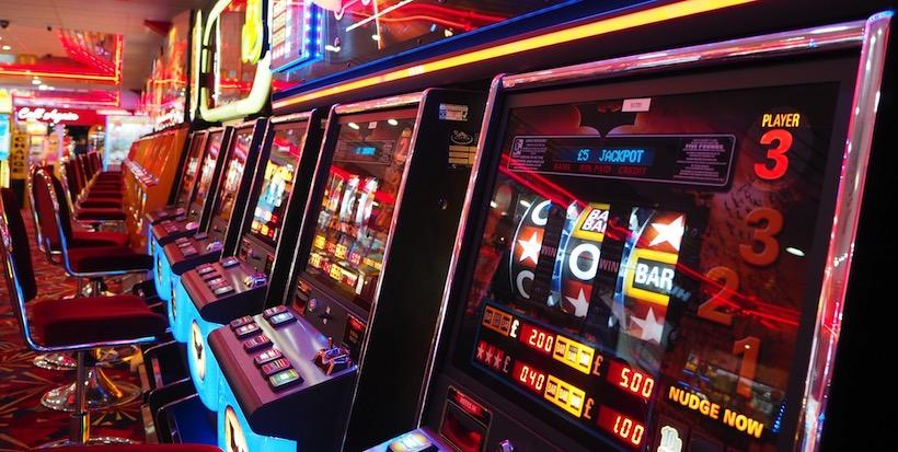Spielautomaten spielen im Casino Velden